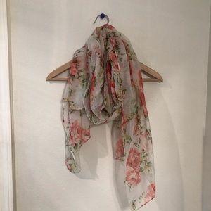 Nordstrom BP floral scarf